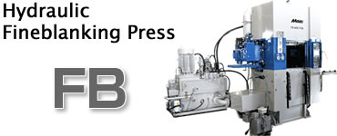 Hydraulic Fineblanking Press